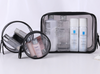 Portable Travel Bag Three-piece Waterproof Transparent PVC Cosmetic Bag Spot Simple Cosmetic Bag