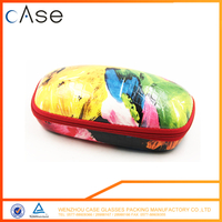 EVA custom zippered eyeglass case