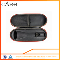 2017 Hottest Customized Shockproof hard empty EVA PU leather standard Wireless microphone case for packaging