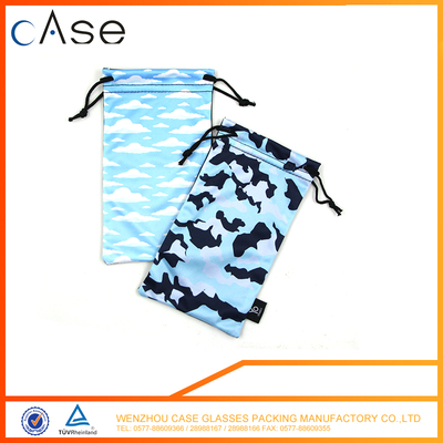 Hot sale customzied sunglasses spring pouch