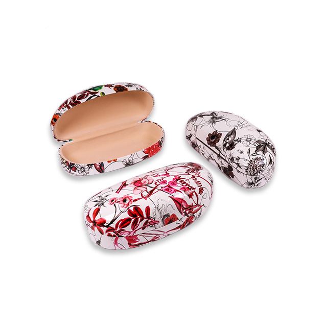 Shockproof eco-friendly silver metal glasses case
