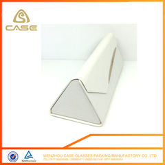 folding triangle glasses case