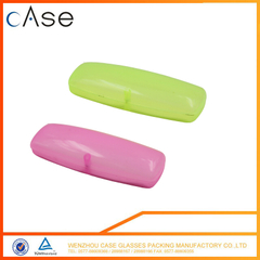 Candy color magnet plastic sunglasses boxes OEM optical case