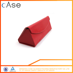 foldable optical /reading triangle case glasses