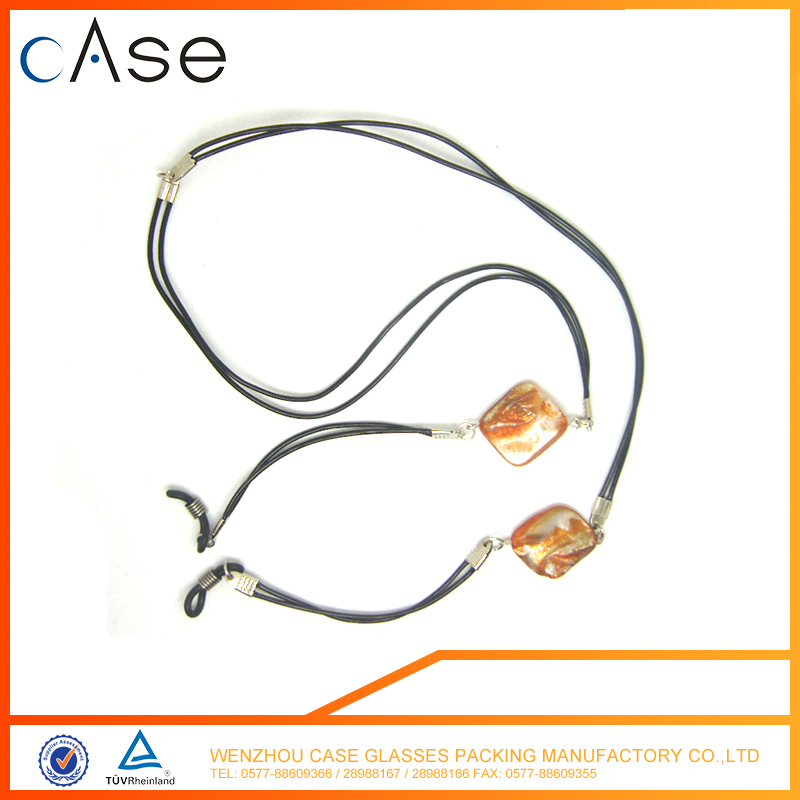 High quality customzied stone glass chain