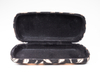 2021 Glasscase Sunglasses Four Types of Eyewear Cases Printed with Feather Patterns
