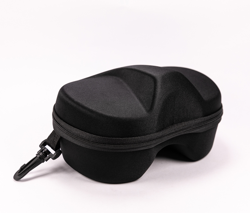 2021 Glasses Box Sunglasses Black, Pull Chain Type, Shape Is Irregular Obvious Protrusions, Creative Design