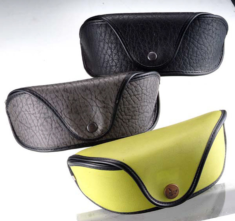 2021 Glasses Box Sunglasses Come in Three Styles That Look Like A Small Leather Bag