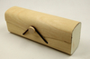 2021 Sunglasses, Light Brown Wood Grain Glasses Case, Appearance Like A Wooden Leather Bag