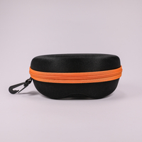 2021 Glasses Case A Black, Zip-end Glasses Case That Looks Like A Fanny Pack