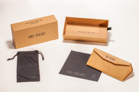 2021 Sunglasses, Brown Case, Black Pocket And Wipe Cloth