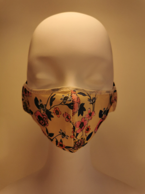 Mask of 2021, Two Styles, Printed Face Covering Cloth
